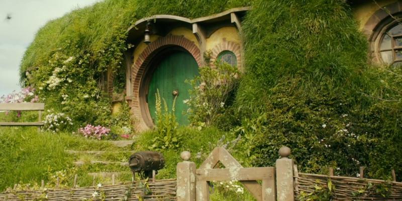 Arquitetura da casa de Bilbo