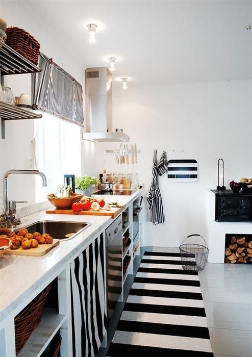 listras na cozinha