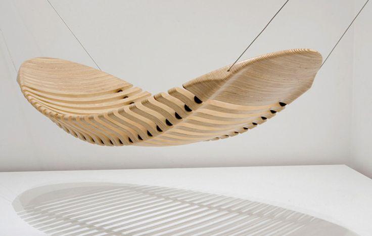 """""""Rede em madeira do australiano Adam Comish - 2010"""