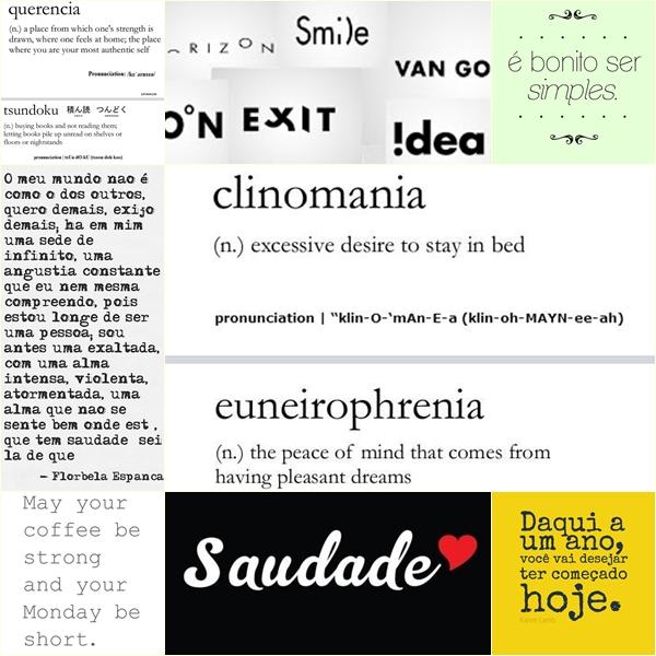 page palavras