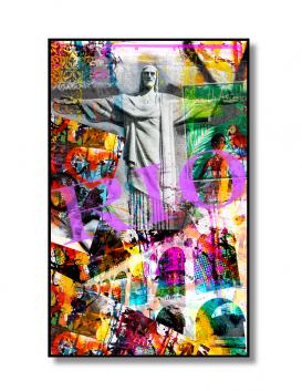 Poster grafitti Rio, da Art Causa