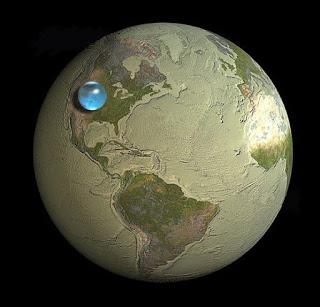 agua na terra