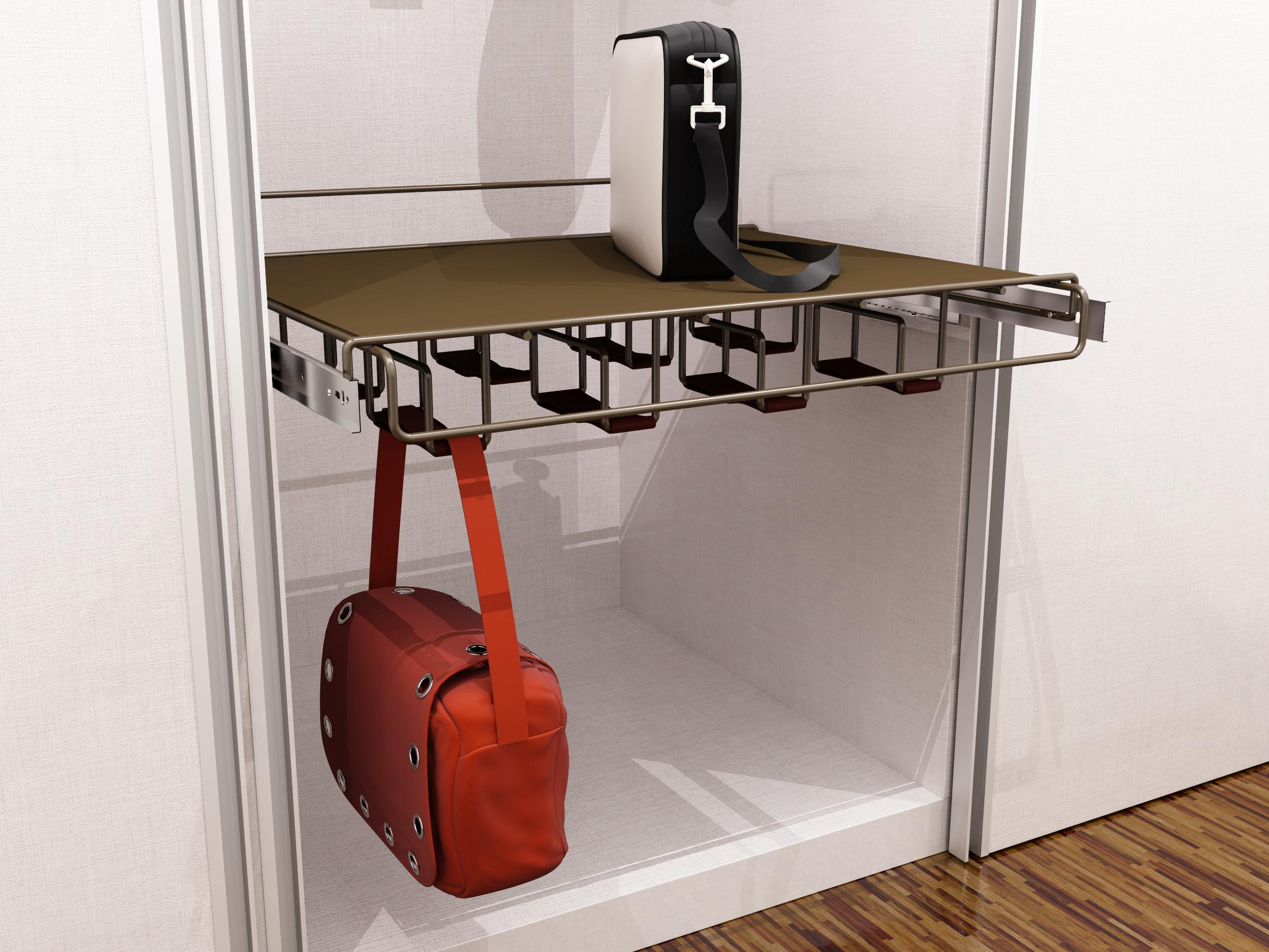 Prateleira Porta-Bolsas PROJETO: Intervento Design