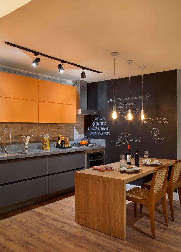 Estudio para um solteiro as arquitetas for Simulador de cocinas integrales online