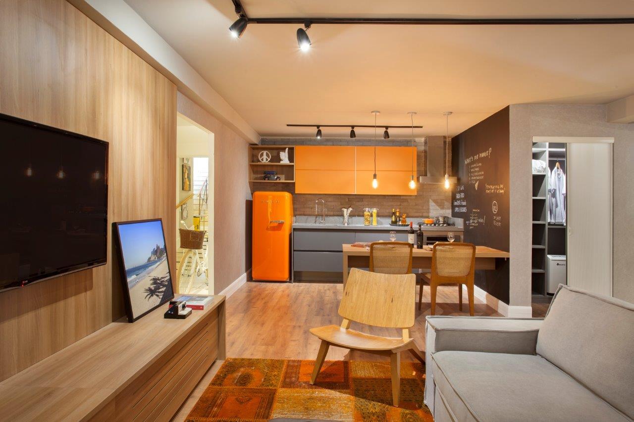 Espaço 79 - Apartamento do Solteiro assinado por Andressa Fonseca para o MORAR MAIS por menos RIO 2014 (5)