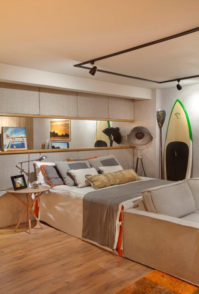 Espaço 79 - Apartamento do Solteiro assinado por Andressa Fonseca para o MORAR MAIS por menos RIO 2014 (8)