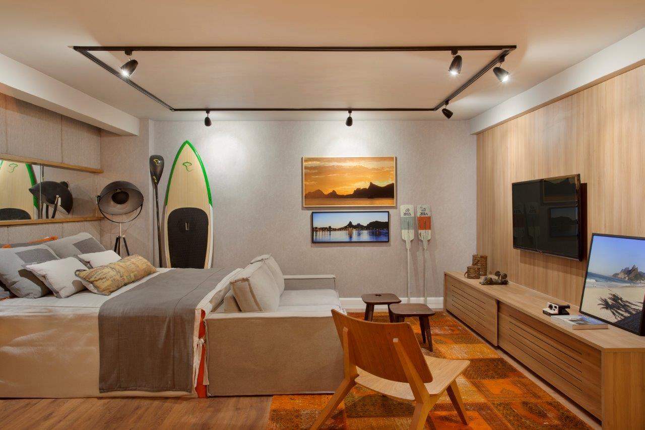 Espaço 79 - Apartamento do Solteiro assinado por Andressa Fonseca para o MORAR MAIS por menos RIO 2014 (9)