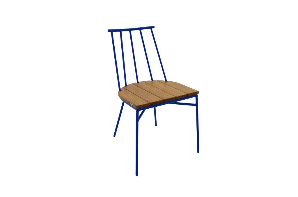 Cadeira Carioquinha - alumío e cumaru - design by Claudia Mazzieri_R$ 1.444,50