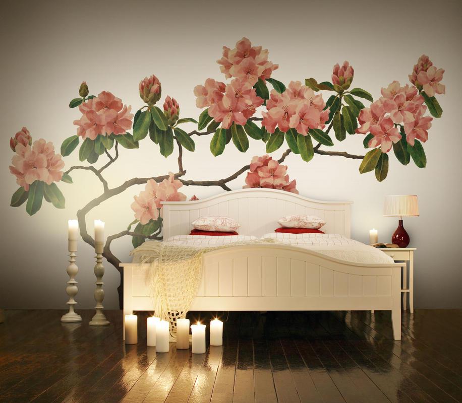 Pink Blossom Item number P030501-W Design L. Holtzberg Collection Urban Nature