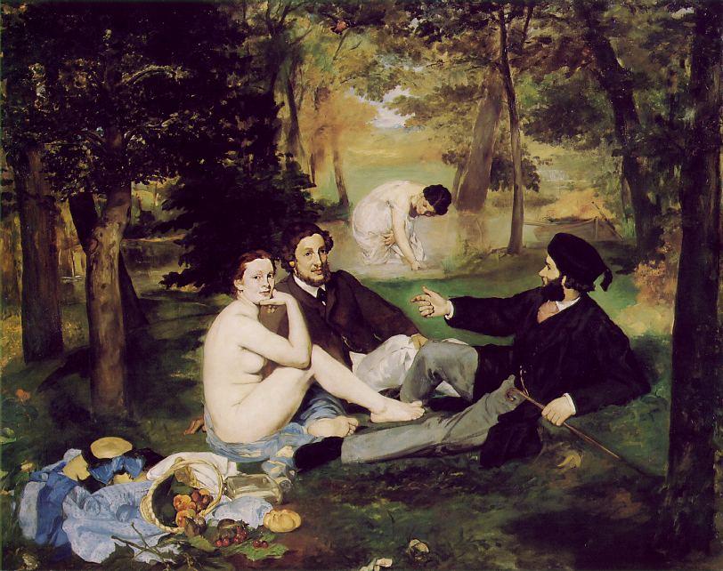 Edouard Manet Le Déjeuner sur l'Herbe (The_Picnic)