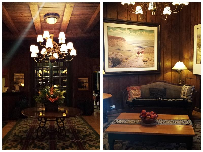 Hall de entrada Llao Llao Hotel