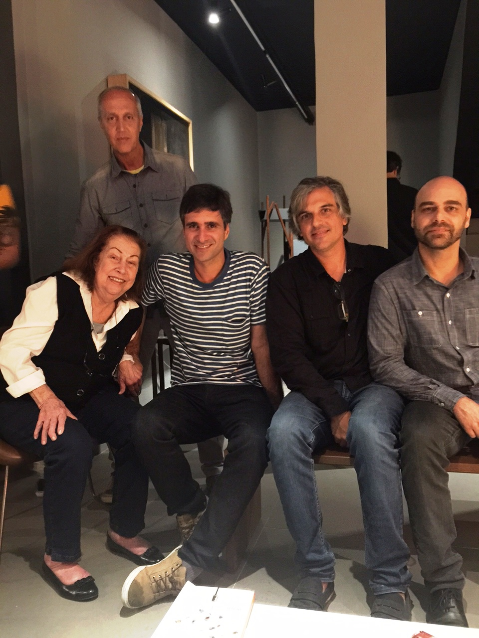 Aida Boal, Marcelo Vasconcellos, Otavio Nazareth Pedro Moog e Leonardo Latavo