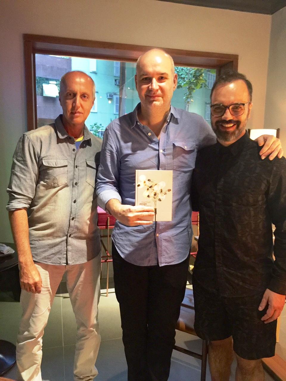 Marcelo Vasconcelos, Guilherme Leite Ribeiro e André Bastos