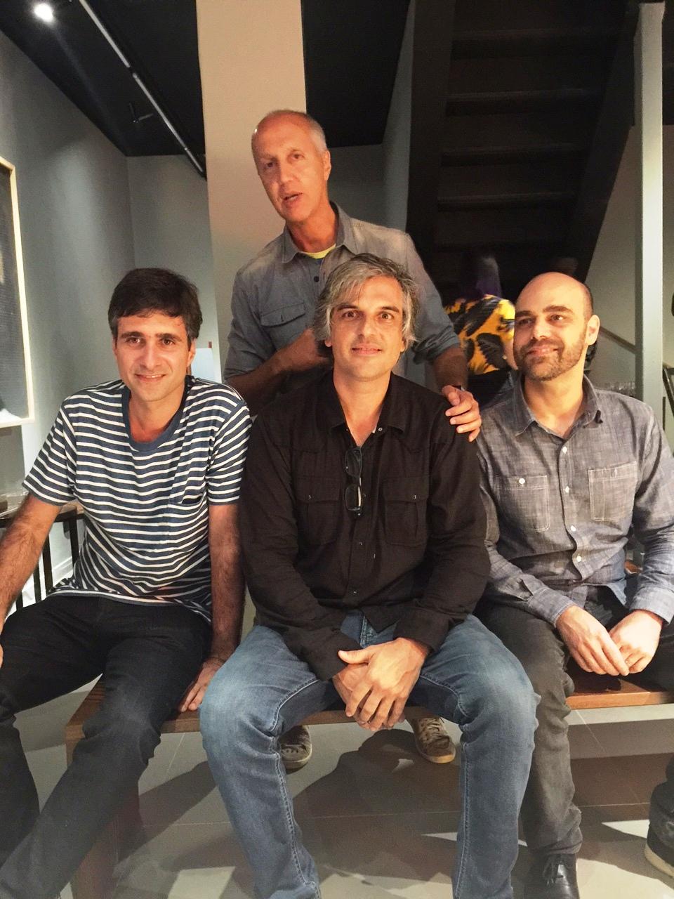 Otavio Nazaretg, Marcelo Vasconcellos, Pedro Moog e Leonardo Latavo