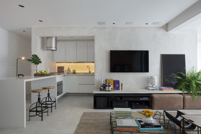 apartamento NO RIO DE JANEIRO - POUCAS CORES E MUITO CHARME