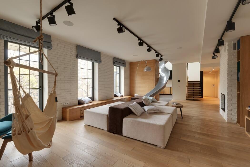 apartamento com rede na sala