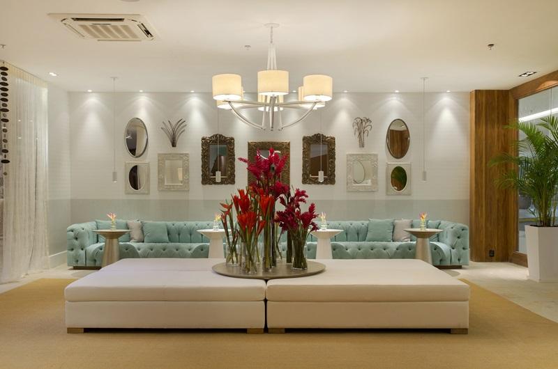 Lobby do Resort na Praia assinado pela designer Roberta Devisate na 1-¬ edi+º+úo carioca da Mostra Sierra - foto 1