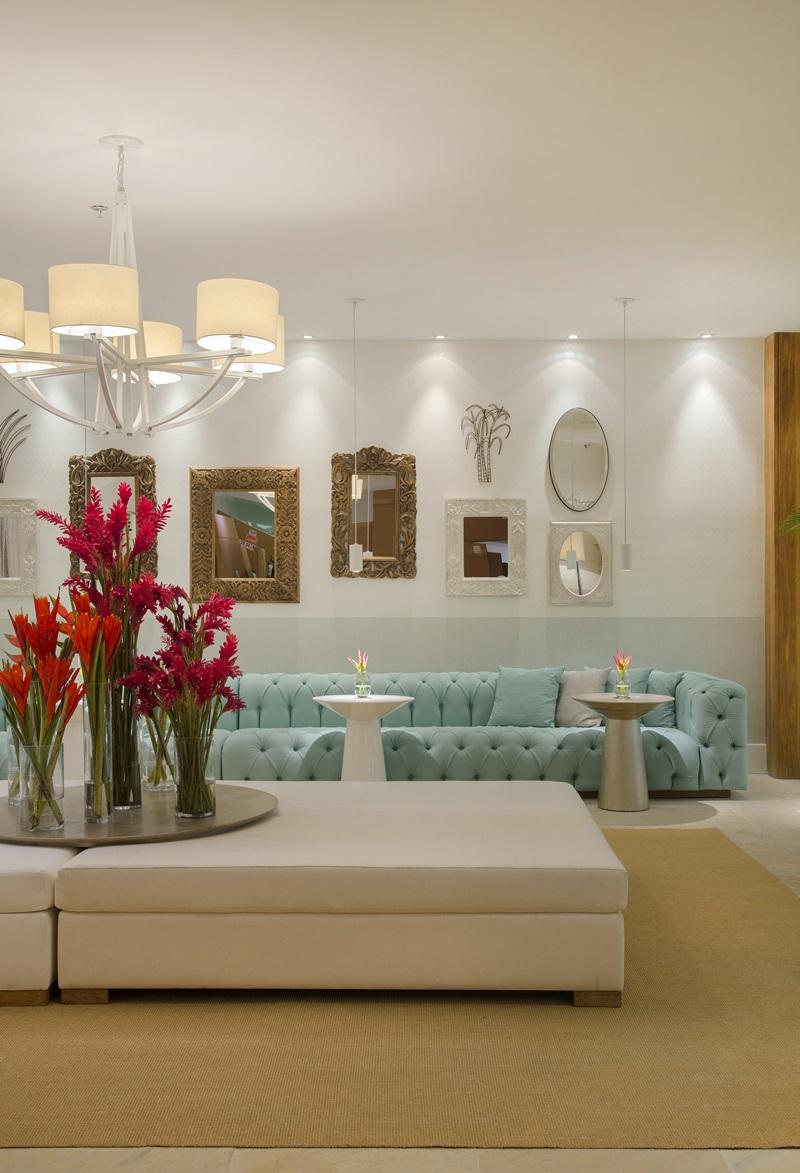 Lobby do Resort na Praia assinado pela designer Roberta Devisate na 1-¬ edi+º+úo carioca da Mostra Sierra - foto 2