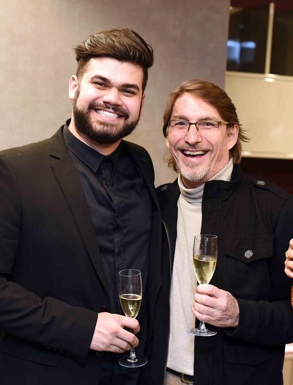 Andre Sgalbieri e Francisco Amorim