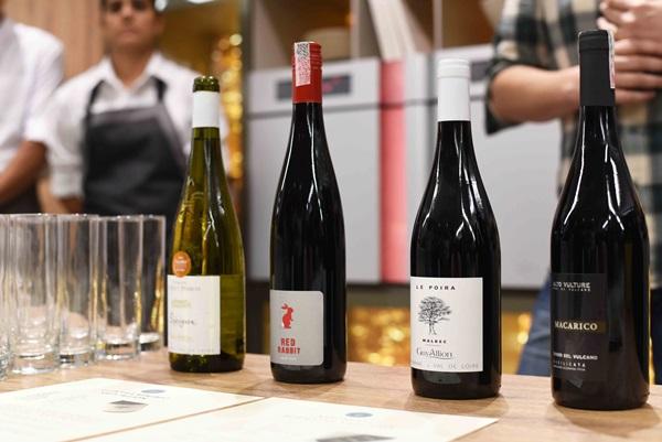 Degustacao de vinho na SCA IPANEMA