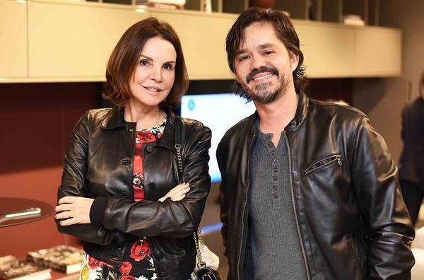 Patricia Mayer e Ricardo Melo