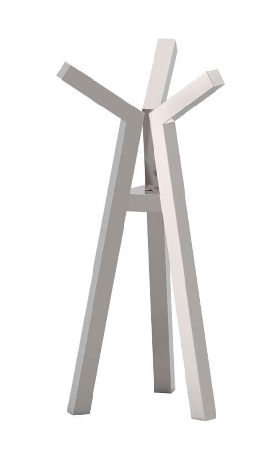 Cabideiro Lança Dimensões: 84x170cm Material: Aço inox