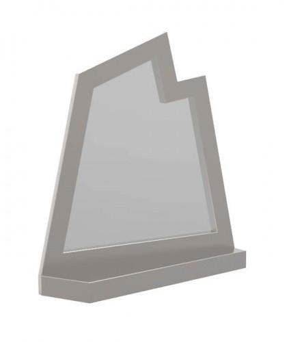Espelho Narci Dimensões: 90x22x94cm Material: Aço inox e espelho