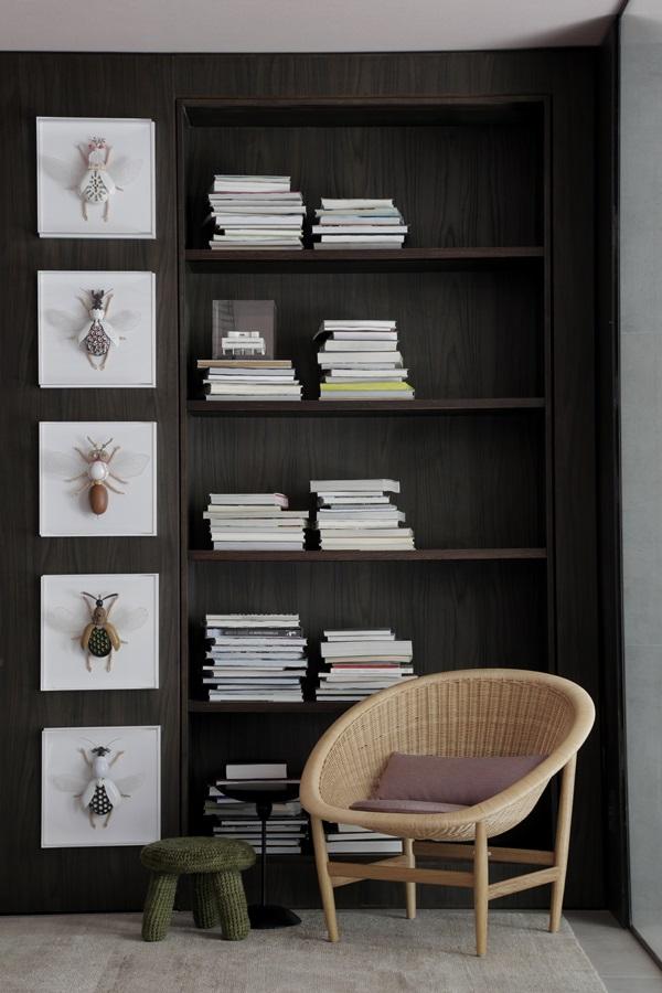 Peças da COLLECTANIA no espaço Casa Niwa, assinado pelo escritório Yamagata Arquitetura para o CasaCor SP 2017