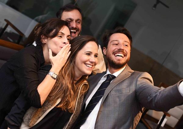 Alessandra Lacet Bruno Mansur Tatiana Oliveira e Eduardo Schuster