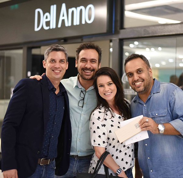 Alysson Pereira Felipe Mazzoni Chris Bernardes e Luiz Claudio Ceia