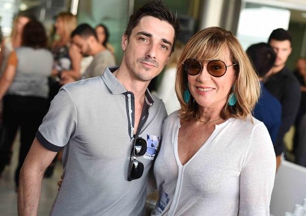 Christophe Paris e Eva Taquechel