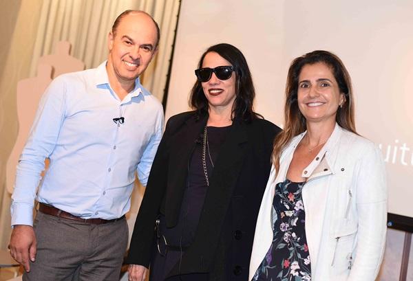 Edson Busin, Gloria Coelho e Anna Fadul