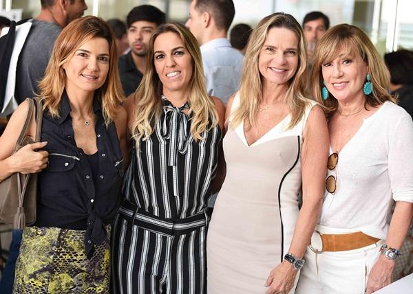 Flavia Marcolini, Sabrina Schuback, Sandra Molina e Eva Taquechel