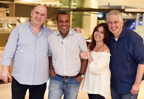 Joel Uderman Sergio Novaes Carmen Mouro e Claudio Brandão
