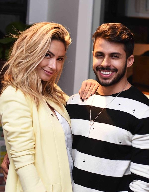 Kelly Correia e Rodrigo Coelho