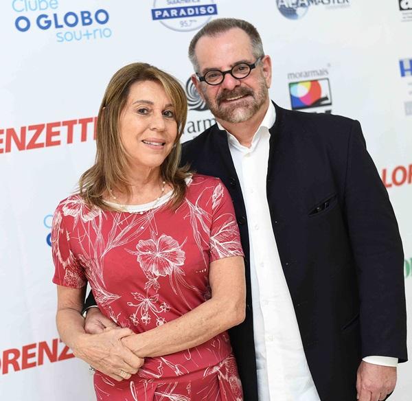 Ligia Schuback e Eduardo Machado