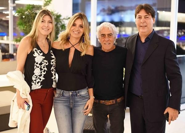 Natalia Celano, Marcia Meira Cadas e Roberto Borges