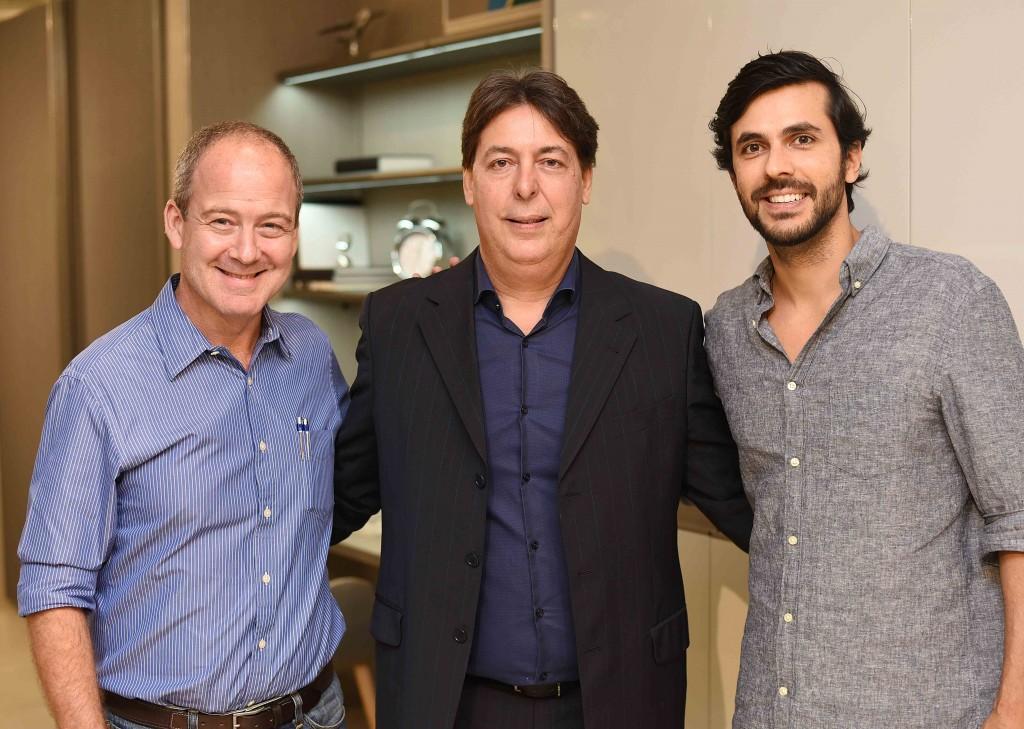 Paulo Magalhaes, Roberto Borges e Artur Fernandes