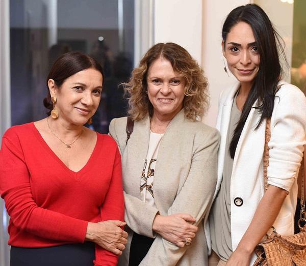 Sueli Bombiere Aninha Costa e Karla Ortiz