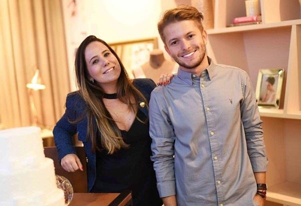 Tatiana Oliveira e Victor Niskier