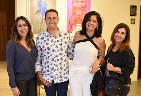 Andressa Fonseca ,Emerson Araujo ,Iolanda Vieira e Lenora Lohrisch