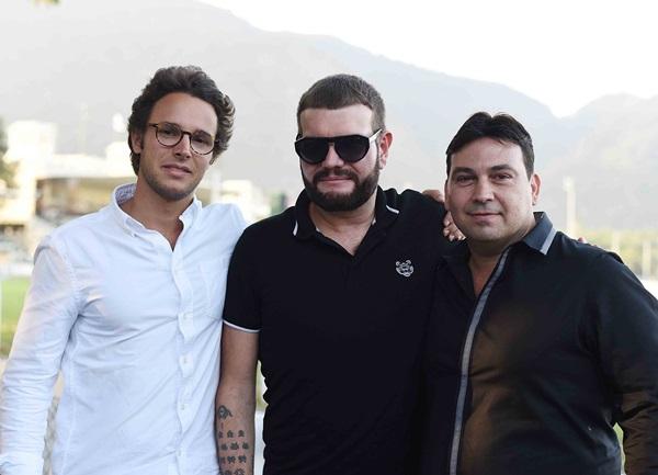 Enrico Boimond, Guilherme Torres e Matias Pinheiro