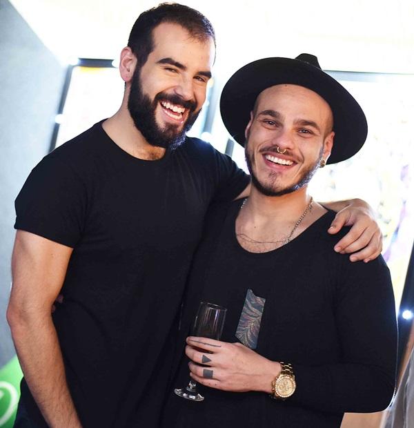 Gustavo Bresciani e Pedro Galaso
