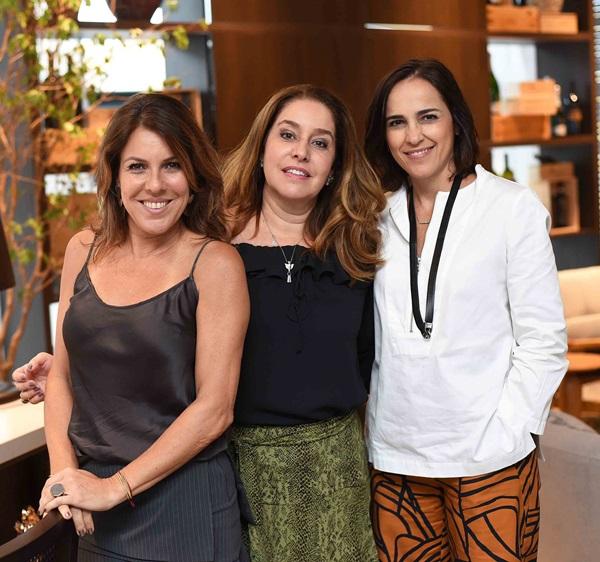Andrea Neves Duarte, Anna Malta e Gisele Taranto