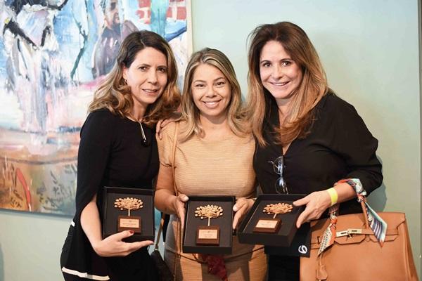 Aparecida Barreto, Lana Rocha e Rita Santiago