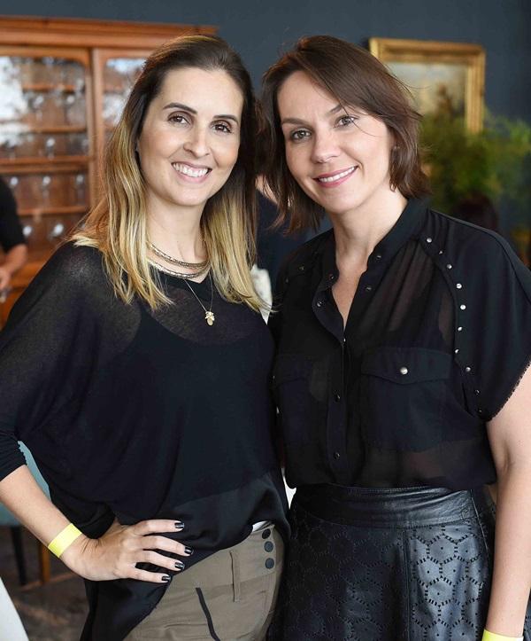 Camila Simbalista e Paula Wetzel