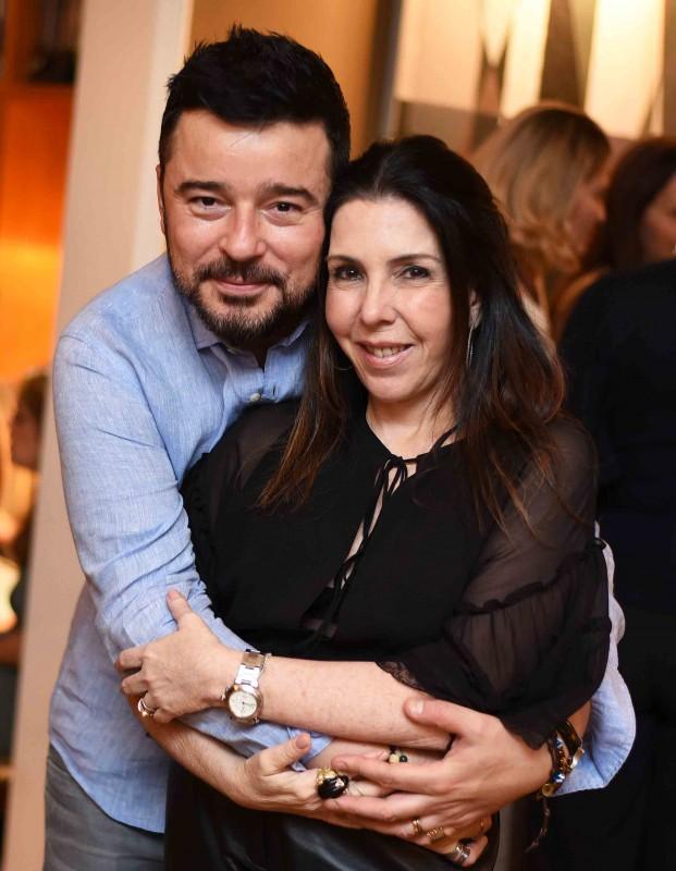 Carlos Tufvesson e Paola Ribeiro