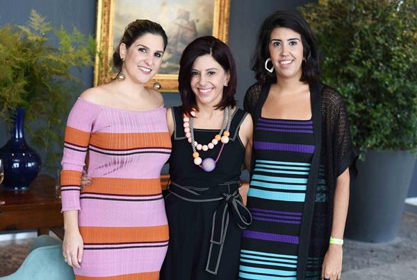 Georgia Assis, Marcia Assis e Joana Latini
