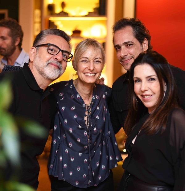 Ivan Rezende, Patricia Marinho Marcelo Catalano e Paola Ribeiro
