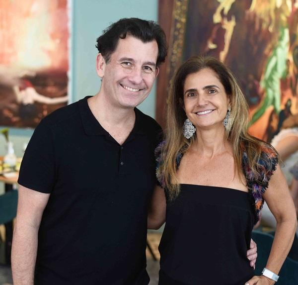 Alexandre Hockensmith e Anna Fadul